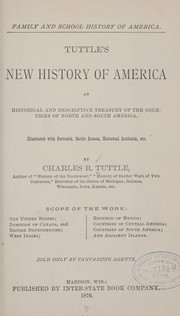 Cover of: Family and school history of America