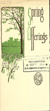 Cover of: Spring offerings | Farr Nurseries Company