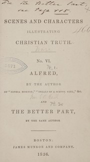 Cover of: Alfred | Louisa J. Hall