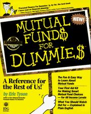 Cover of: Mutual fund$ for dummie$