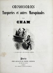 Cover of: Chinoiseries, turqueries et autres maroquinades