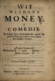 Cover of: Wit without money