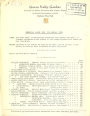 Perennial price list for spring 1929