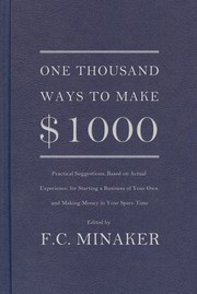 Cover of: One thousand ways to make  $1000