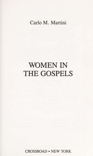 Women in the gospels by Carlo Maria Martini