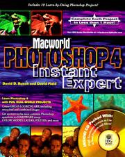 Cover of: Macworld Photoshop 4 instant expert