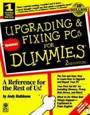 Upgrading & fixing PCs for dummies by Andy Rathbone