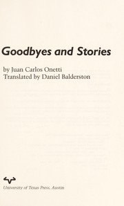 Cover of: Goodbyes and stories