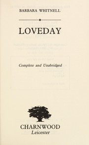 Cover of: Loveday | Barbara Whitnell