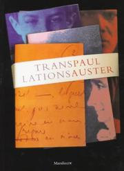 Cover of: Translations
