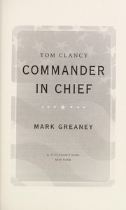 Cover of: Tom Clancy commander-in-chief