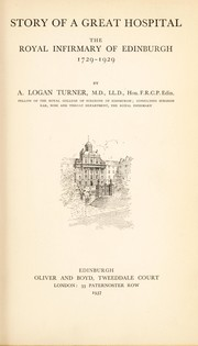 Cover of: Story of a great hospital