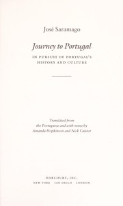 Cover of: Journey to Portugal