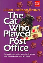 Cover of: The cat who played post office