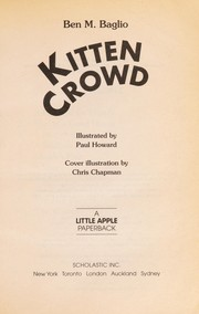 Cover of: Kitten Crowd |