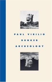 Cover of: Bunker archéologie