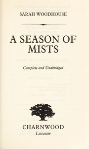 Cover of: A season of mists
