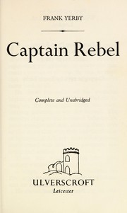 Cover of: Captain Rebel