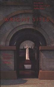 Cover of: Wright Sites | Arlene Sanderson