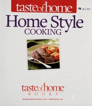 Cover of: Taste of Home home style cooking