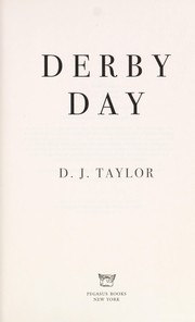 Cover of: Derby Day