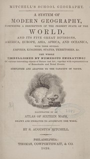 Cover of: Mitchell's school geography