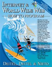 Internet & World Wide Web How to Program by Paul J. Deitel