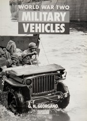 Cover of: World War Two Military Vehicles