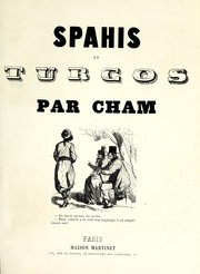 Cover of: Spahis et Turcos