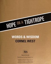 Cover of: Hope on a tightrope: words & wisdom