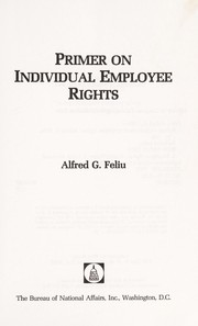 Cover of: Primer on individual employee rights