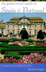 Cover of: The Garden Lover's Guide to Spain and Portugal (Garden Lover's Guides to)