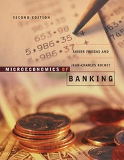 Cover of: Microeconomics of Banking