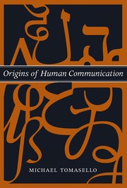 Cover of: Origins of human communication