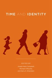 Cover of: Time and identity |