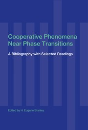 Cover of: Cooperative phenomena near phase transitions