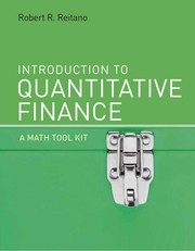 Cover of: Introduction to quantitative finance