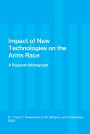 Cover of: Impact of new technologies on the arms race | Pugwash Symposium (10th 1970 Racine, Wis.)