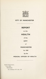 Cover of: [Report 1965]