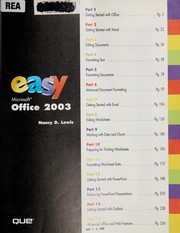 Cover of: Easy Microsoft Office 2003 | Nancy D. Lewis