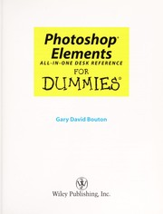 Cover of: Photoshop elements | Gary David Bouton