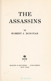 Cover of: The assassins