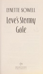 Cover of: Love's stormy gale
