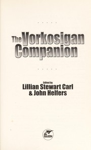 Cover of: The Vorkosigan companion
