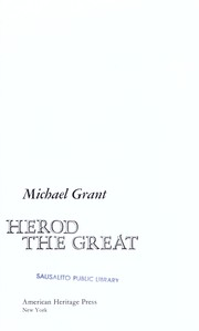Cover of: Herod the Great