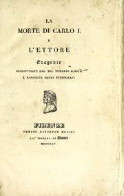 Cover of: La morte di Carlo I