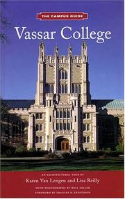 Cover of: Vassar College (The Campus Guide) | Karen Van Lengen