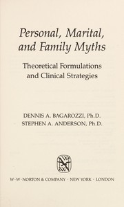 Cover of: Personal, marital, and family myths