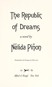 Cover of: The republic of dreams