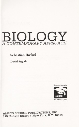 Biology by Sebastian Haskel, David Sygoda